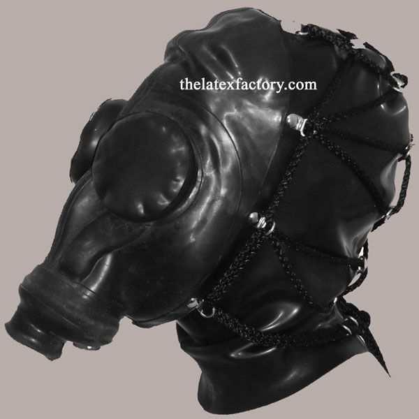 Tie Back Russian Gas Mask
